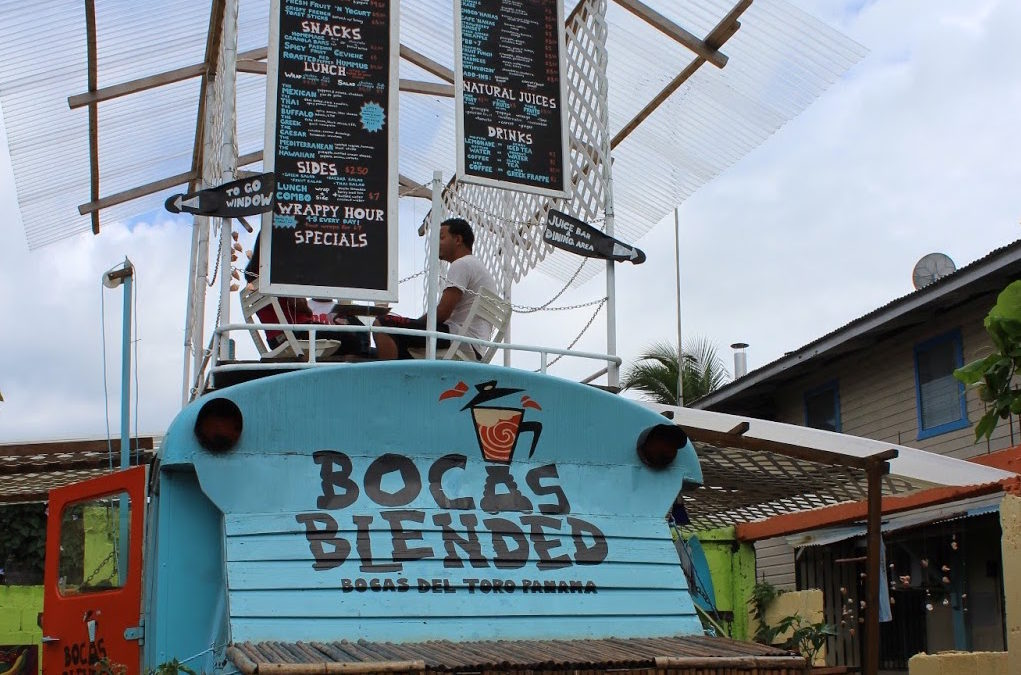 Central America: Panama, Isla Bastimentos to Bocas Town and Meeting Questionable Characters