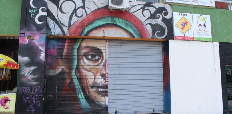 Peru travel - street art in Lima
