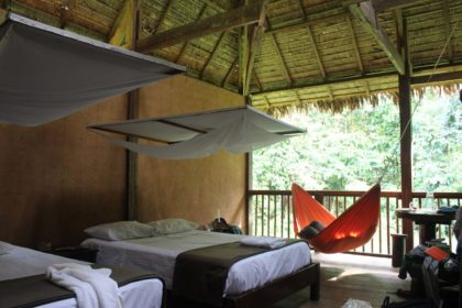 Amazon adventure - our room in the rainforest