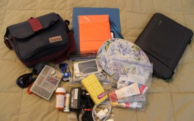 What to pack for multiple countries Part 1