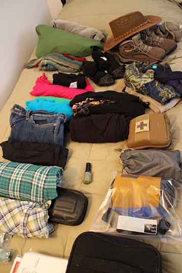 What to pack for multiple countries Part 2