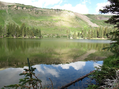 Backpacking Travel to Horseshoe Lake, Pecos Wilderness, NM