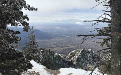 Winter Hike at the Sandia Crest