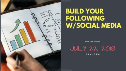 Build Your Following with Social Media